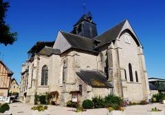 Eglise - Deutsch: Kirche St. Johannes der Täufer, Chaource, Département Aube, Region Champagnes-Ardenne (heute Großer Osten), Frankreich