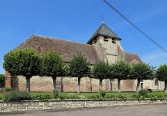 Eglise - Nederlands:   Clérey (departement Aube, Frankrijk): de Sint-Pieters-Bandenkerk
