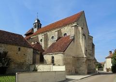 Eglise - Nederlands:   Fouchères (departement Aube, Frankrijk): Maria-Geboortekerk (église de la Nativité-de-la-Sainte-Vierge)