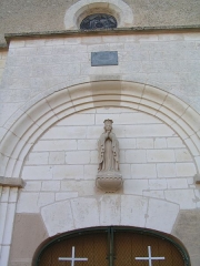 Eglise de l'Assomption - This building is indexed in the Base Mérimée, a database of architectural heritage maintained by the French Ministry of Culture,under the reference PA00078121 .