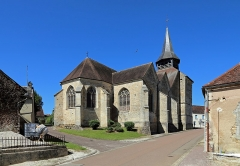 Eglise Saint-Pierre - Nederlands: Longpré-le-Sec (departement Aube, Frankrijk): Sint-Petruskerk