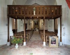 Eglise Saint-Julien - Nederlands: Luyères (departement Aube, Frankrijk): de Sint-Julianuskerk - interieur