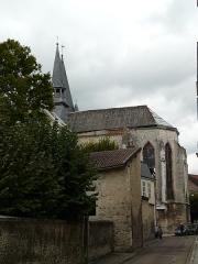 Eglise Saint-Maclou - Français:   Église Saint-Maclou de Bar-sur-Aube: chevet