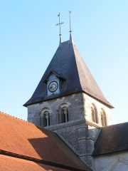 Eglise - This building is indexed in the Base Mérimée, a database of architectural heritage maintained by the French Ministry of Culture,under the reference PA00078183 .