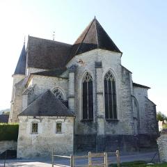 Eglise - L'église Saint-Denis à Polisot (Aube, Champagne-Ardenne, France).