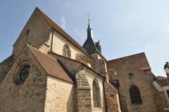 Eglise - English: church of Pont-sur-Seine
