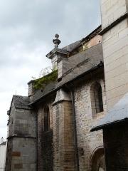 Eglise Saint-Maclou - Français:   Église Saint-Maclou de Bar-sur-Aube: côté droit