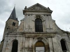 Eglise Saint-Maclou - Français:   Église Saint-Maclou de Bar-sur-Aube: façade