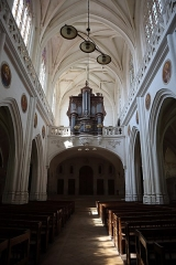 Eglise Saint-Pierre-ès-Liens de Riceys-Bas - Intérieur de l'église Saint-Pierre-ès-Liens de Riceys-Bas, commune des Riceys (10).