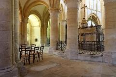 Eglise Saint-Pierre - Nederlands: Bar-sur-Aube (departement Aube, Frankrijk): interieur van de Sint-Pieterskerk - kooromgang