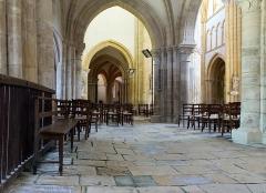 Eglise Saint-Pierre - Nederlands: Bar-sur-Aube (departement Aube, Frankrijk): interieur van de Sint-Pieterskerk