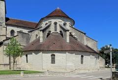 Eglise Saint-Pierre - Nederlands: Bar-sur-Aube (departement Aube, Frankrijk): koorsluiting van de Sint-Pieterskerk