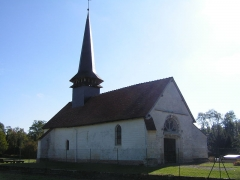 Eglise - This building is indexed in the Base Mérimée, a database of architectural heritage maintained by the French Ministry of Culture,under the reference PA00078205 .