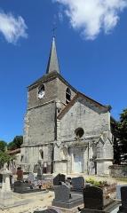 Eglise Saint-Maurice - Nederlands: Rouvres-les-Vignes (departement Aube, Frankrijk): de Sint-Mauritiuskerk