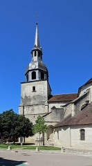 Eglise Saint-Pierre - Nederlands: Bar-sur-Aube (departement Aube, Frankrijk): de toren van de Sint-Pieterskerk