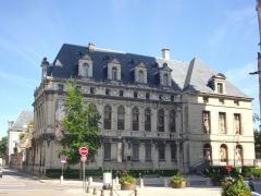 Abbaye Saint-Loup - Français:   Musée Saint-Loup de Troyes (Aube, France): aile méridionale, côté rue de la Cité