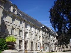 Abbaye Saint-Loup - Français:   Musée Saint-Loup de Troyes (Aube, France): façade orientale