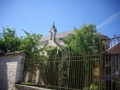 Abbaye Saint-Martin-ès-Aires - Français:   Ancienne abbaye Saint-Martin-ès-Aires de Troyes (Aube, France): église