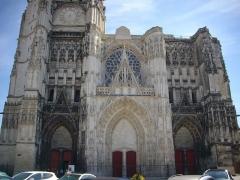 Cathédrale Saint-Pierre Saint-Paul - Cathédrale Saint-Pierre-et-Saint Paul de Troyes (Aube, France): façade