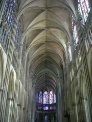 Cathédrale Saint-Pierre Saint-Paul - Français:   Cathédrale Saint-Pierre-et-Saint Paul de Troyes (Aube, France): nef