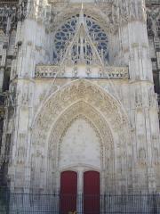 Cathédrale Saint-Pierre Saint-Paul - Cathédrale Saint-Pierre-et-Saint Paul de Troyes (Aube, France): portail central