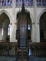 Cathédrale Saint-Pierre Saint-Paul - Cathédrale Saint-Pierre-et-Saint Paul de Troyes (Aube, France): chaire