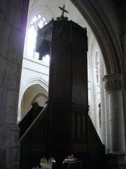 Eglise Saint-Jean - Français:   Église Saint-Jean-du-Marché de Troyes (Aube, France): chaire