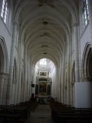 Eglise Saint-Jean - Église Saint-Jean-du-Marché de Troyes (Aube, France): nef