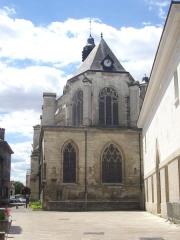 Eglise Saint-Nicolas - Français:   Église Saint-Nicolas de Troyes (Aube, France): chevet