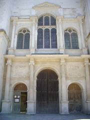 Eglise Saint-Nizier - Français:   Église Saint-Nizier de Troyes (Aube, France): portail occidental