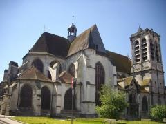 Eglise Saint-Nizier - Français:   Église Saint-Nizier de Troyes (Aube, France) vue du nord