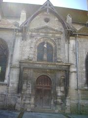 Eglise Saint-Nizier - Français:   Église Saint-Nizier de Troyes (Aube, France): portail septentrional