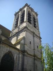 Eglise Saint-Nizier - Français:   Église Saint-Nizier de Troyes (Aube, France): clocher