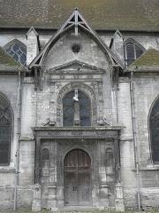 Eglise Saint-Nizier - Français:   Portail nord de l\'église Saint-Nizier de Troyes (10).
