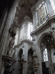 Eglise Saint-Pantaléon -  Transept et élévation sud de la nef de l'église Saint-Pantaléon de Troyes.