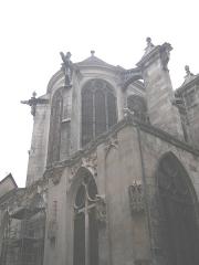 Eglise Saint-Pantaléon -  Chevet de l'église Saint-Pantaléon de Troyes