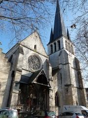 Eglise Saint-Rémy -  Église Saint-Remi de Troyes.Portail.