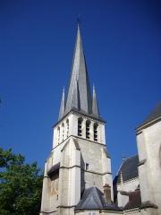 Eglise Saint-Rémy - Français:   Église Saint-Rémy de Troyes (Aube, France): clocher