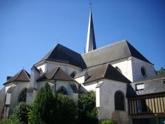 Eglise Saint-Rémy - Français:   Église Saint-Rémy de Troyes (Aube, France): chevet