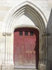 Eglise Saint-Rémy - Français:   Église Saint-Rémy de Troyes (Aube, France): portail méridional
