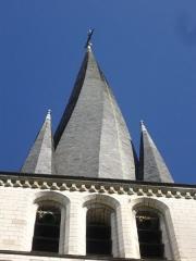 Eglise Saint-Rémy - Église Saint-Rémy de Troyes (Aube, France): clocher