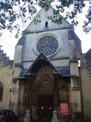 Eglise Saint-Rémy - Français:   Église Saint-Rémy de Troyes (Aube, France): portail occidental