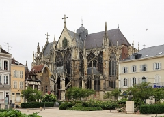 Eglise Saint-Urbain - Nederlands: Troyes (departement Aube, Frankrijk): de Sint-Urbanusbasiliek