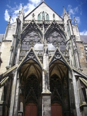 Eglise Saint-Urbain - Basilique Saint-Urbain de Troyes (Aube, France): transept sud
