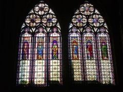 Eglise Saint-Urbain - Basilique Saint-Urbain de Troyes (Aube, France): vitraux
