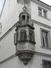 Hôtel de Marisy - Français:   Échauguette de l\'Hôtel de Marisy à Troyes (10).