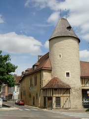 Hôtel du Petit Louvre - Nederlands: 16e eeuws gebouw in Troyes aan kruispunt Rue Boucherat en Rue Linard Gonthier (48.299115 N, 4.080225 E)