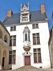 Hôtel des Ursins - Français:   La façade