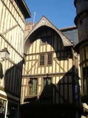 Maison du Boulanger - Français:   Maison du Boulanger, rue Champeaux, à Troyes (Aube, France)