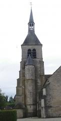 Eglise - English: Vendeuvre-sur-Barse (Aube, Fr) church tower.